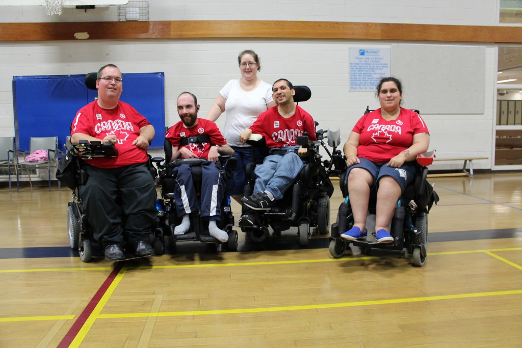 Team Canada Boccia at the Parapan Am Games
