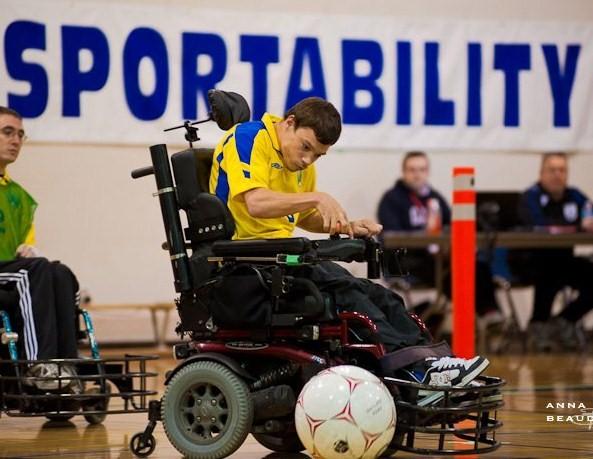 Shayne Powerchair Soccer