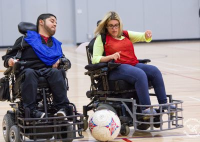 Power Soccer athletes in BC