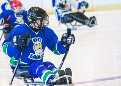 Para ice hockey (sledge hockey) in BC