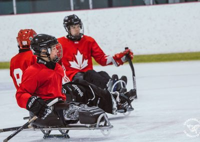 para ice hockey sledge hockey in BC