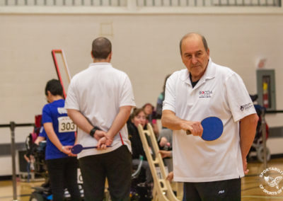 Boccia Referee at the Canadian Boccia Championships, 2019