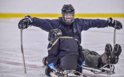 Enter our Para Ice Hockey Virtual Skills Competition